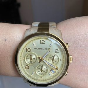 Michael Kors Gold Watch with unique band